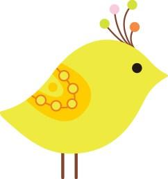 1261x1346 yellow bird clip art [ 1261 x 1346 Pixel ]