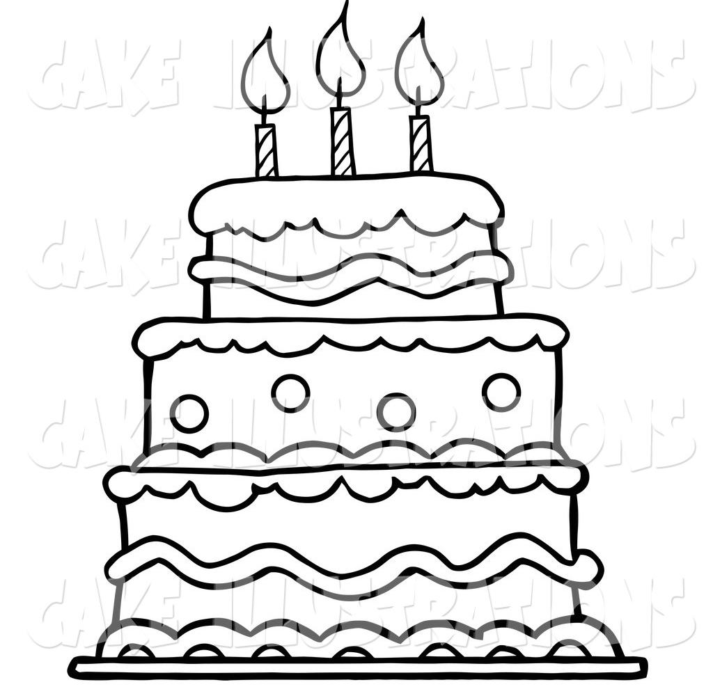 Birthday Cake No Background