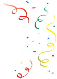 birthday confetti clipart free