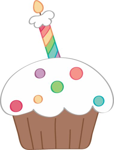 birthday cupcake clipart free