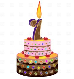 1000x1000 free birthday cake clip art clipart panda [ 1000 x 1000 Pixel ]