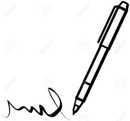 pen writing clipart signature vector clip penna signatures cliparts scribble clipartpanda clipartmag scrittura clipground library illustration 20clipart archivio fotografico royalty