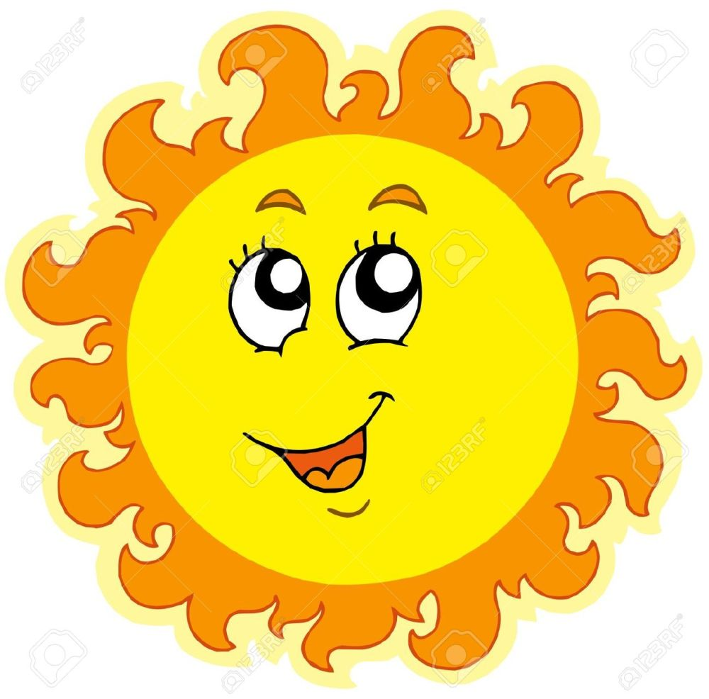 medium resolution of 1300x1283 picture sun clipart
