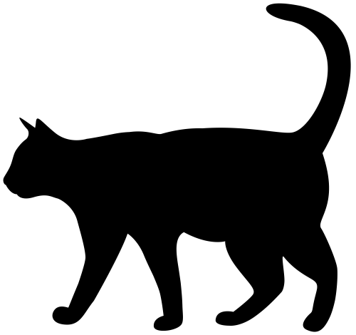 small resolution of 8000x7522 black cat clipart transparent