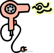 blow dryer clipart free