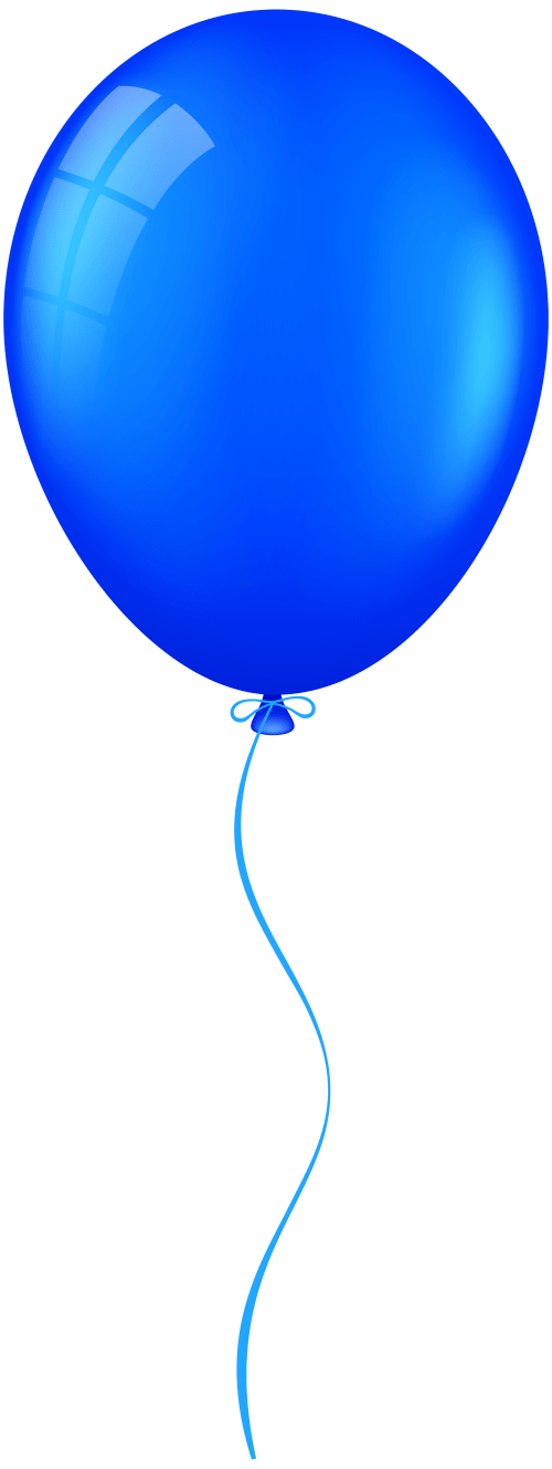 small resolution of 3009x8000 blue balloon png clip art