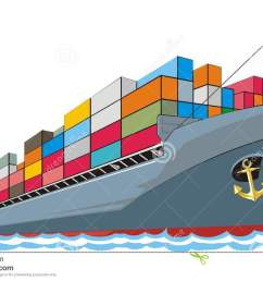 1300x867 boat clipart cargo ship [ 1300 x 867 Pixel ]