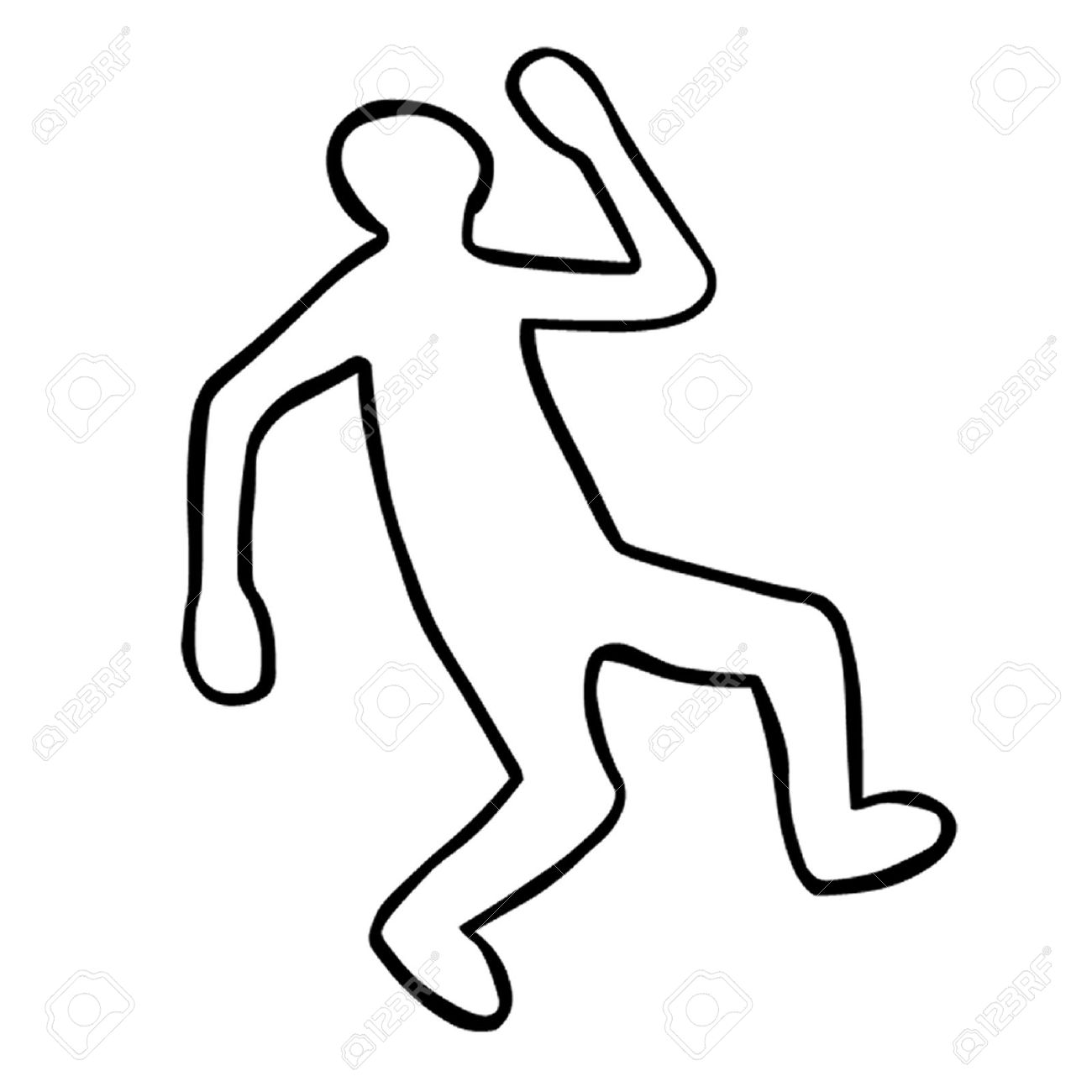 Body Outline Clipart