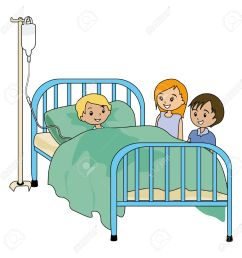 hospital bed clipart [ 1287 x 1300 Pixel ]