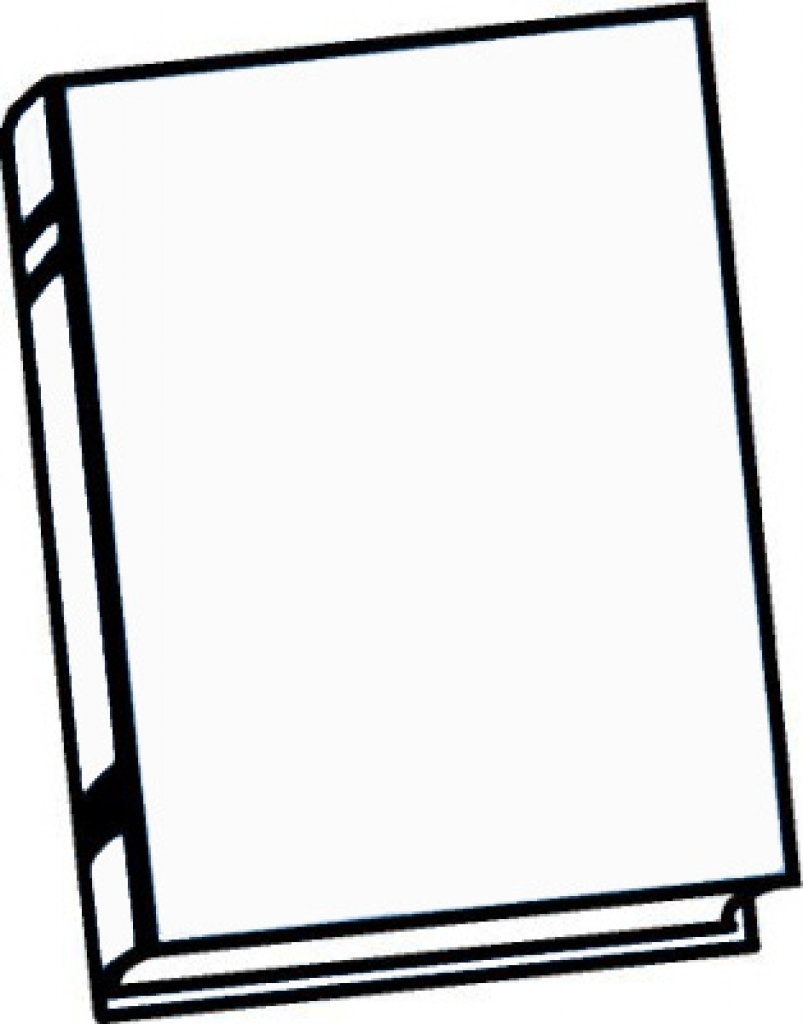hight resolution of 803x1024 clipart black and white book