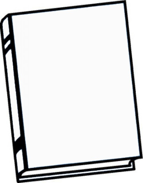 small resolution of 803x1024 clipart black and white book