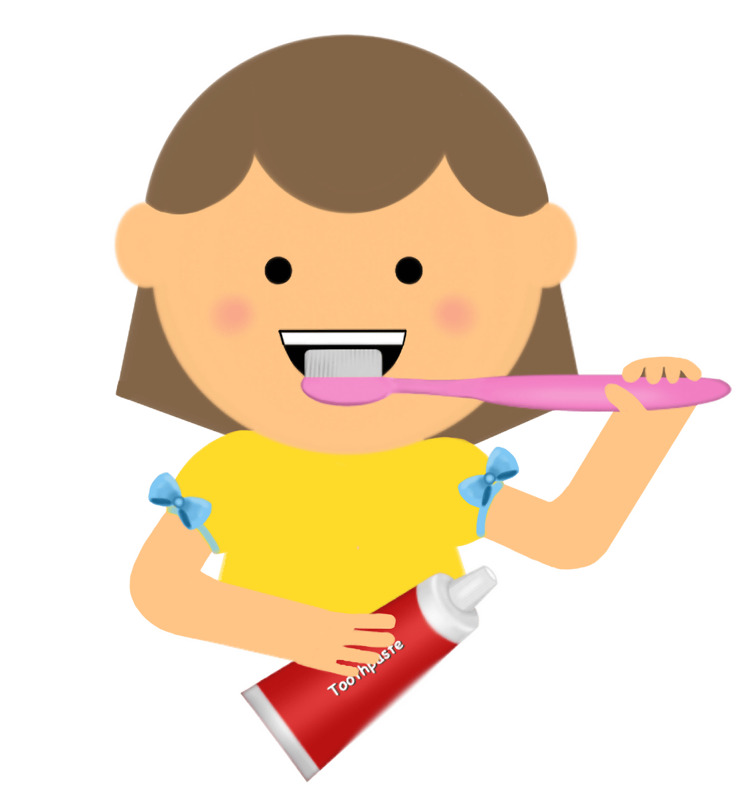 hight resolution of 1541x1600 child clipart brush tooth