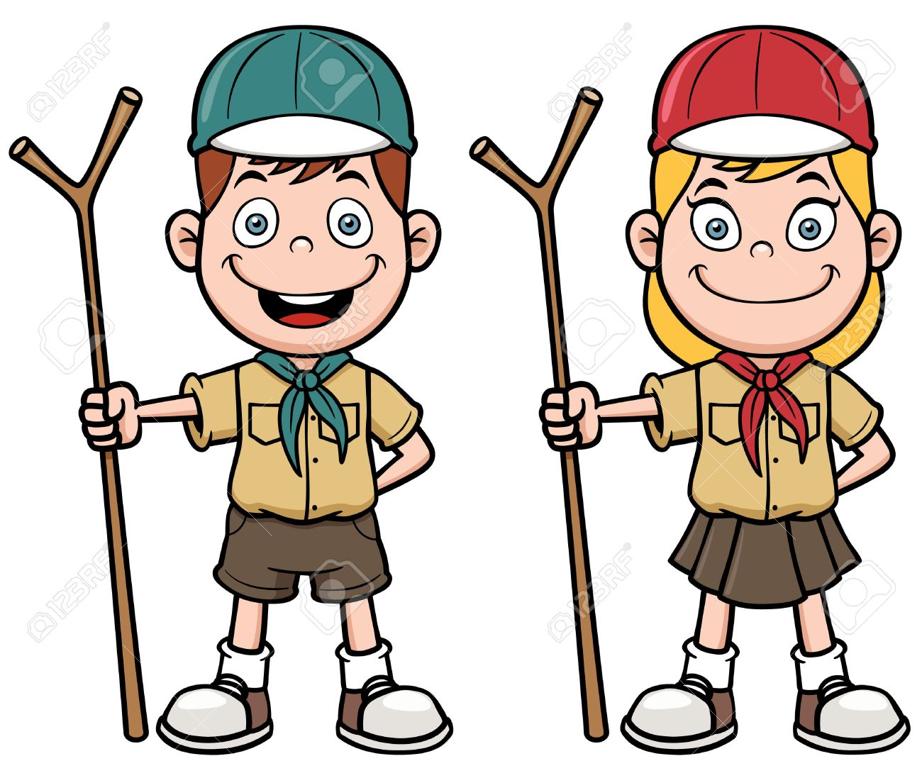 hight resolution of 1300x1104 2 317 boy scout cliparts stock vector and royalty free boy scout