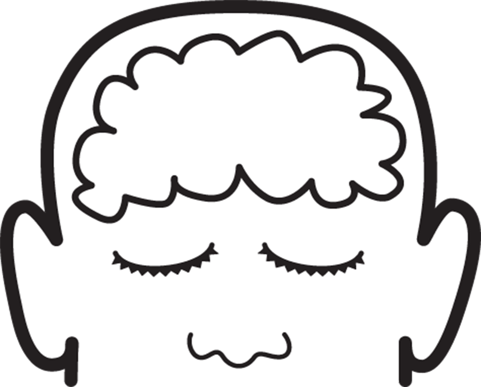 Brain Clipart Black And White