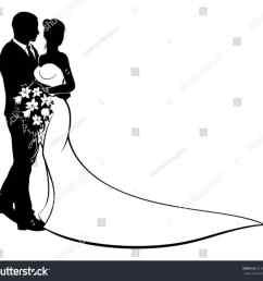 1185x1089 bride groom silhouette png [ 1185 x 1089 Pixel ]