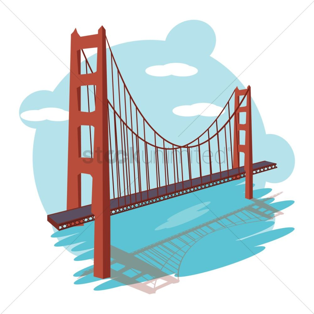 medium resolution of 1300x1300 bridge clipart long