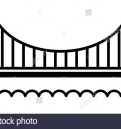 1300x760 golden gate bridge illustration stock photos amp golden gate bridge [ 1300 x 760 Pixel ]