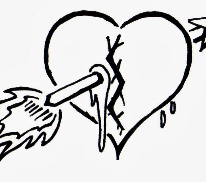 Broken Heart Clipart Double Heart Wedding