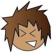 brown hair clipart free