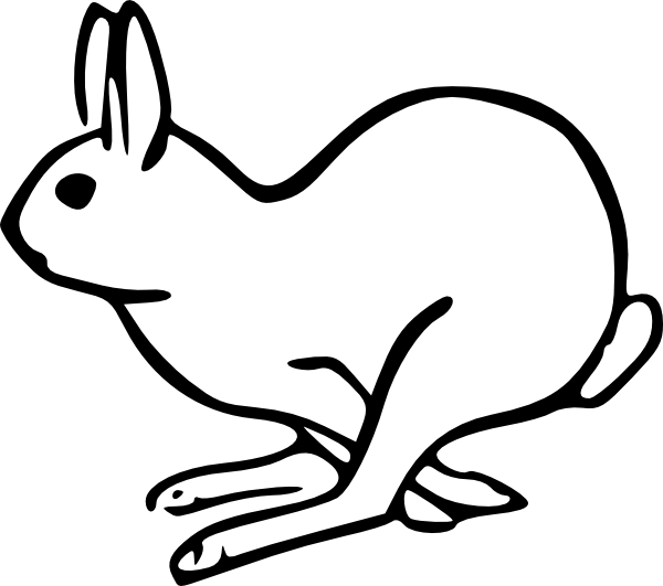 Thumper Rabbit Clip Cute