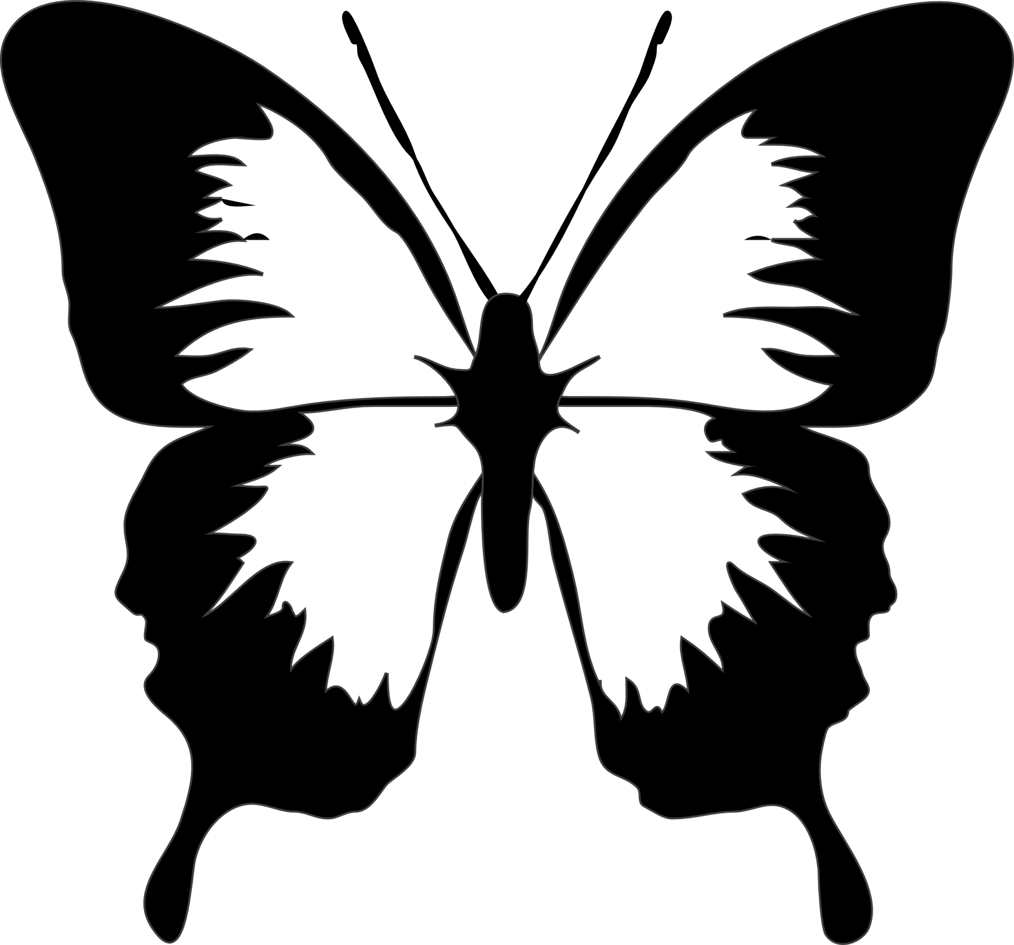 hight resolution of 2555x2381 butterfly black and white clip art black and white moth clipart