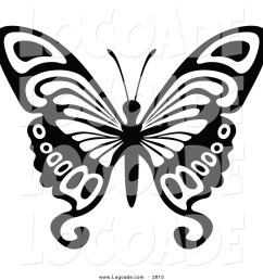 1024x1044 clipart of a black and white flying butterfly logo by dero [ 1024 x 1044 Pixel ]