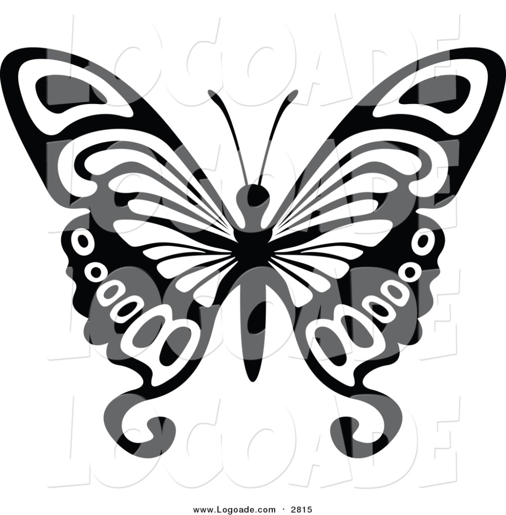 medium resolution of 1024x1044 clipart of a black and white flying butterfly logo by dero