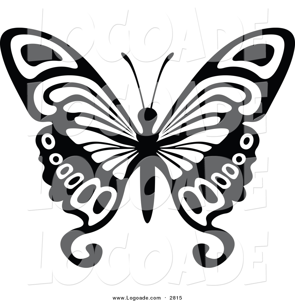 hight resolution of 1024x1044 clipart of a black and white flying butterfly logo by dero