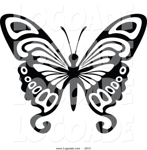 small resolution of 1024x1044 clipart of a black and white flying butterfly logo by dero