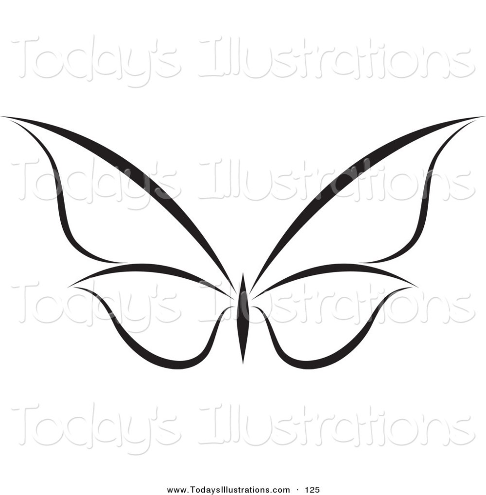 medium resolution of 1024x1044 butterfly clip art black and white clipart of a black and white