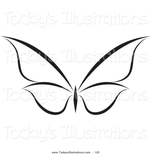small resolution of 1024x1044 butterfly clip art black and white clipart of a black and white