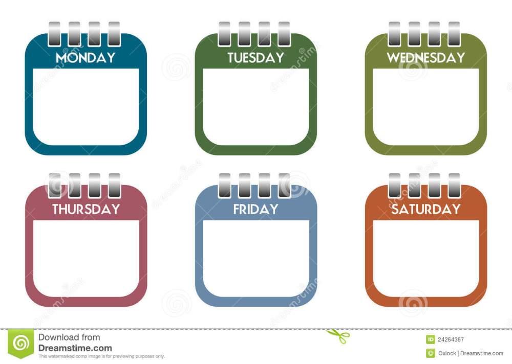 medium resolution of 1300x926 calendar clipart weekly calendar