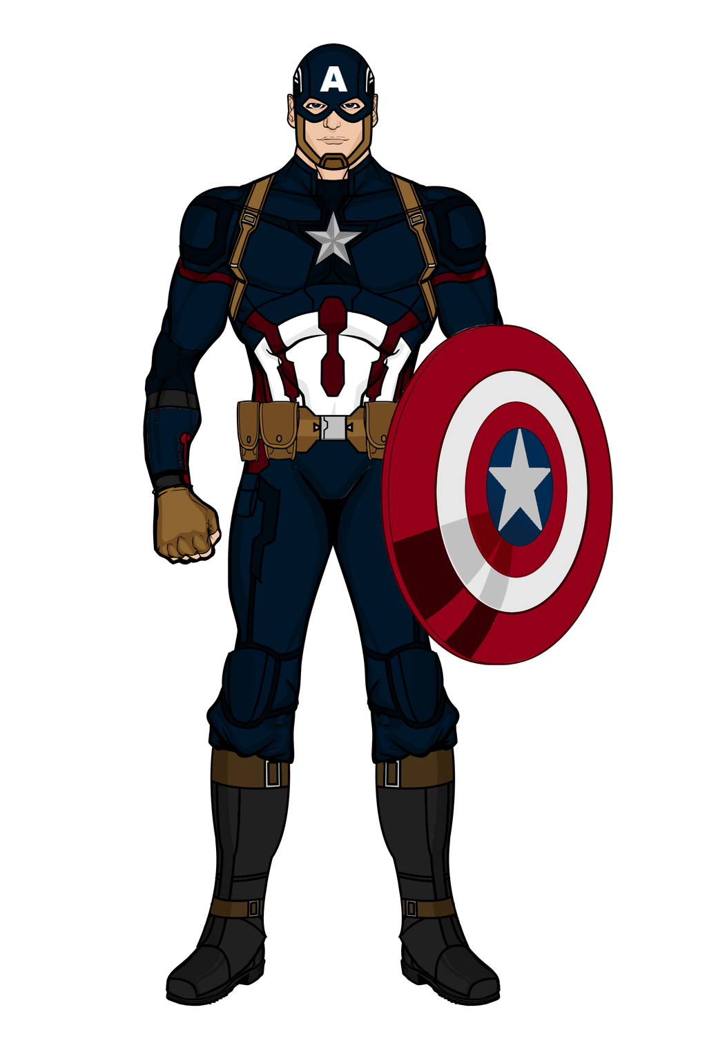 hight resolution of 1024x1536 captain america mark iii civil war heromachine by aniartluke82