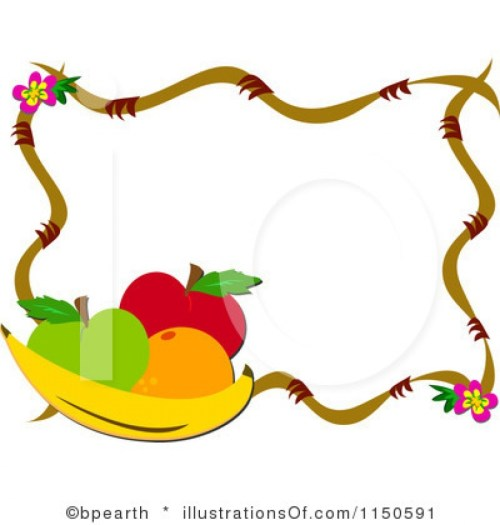 small resolution of 975x1024 fruits and vegetables border clipart clipart panda free for fruit