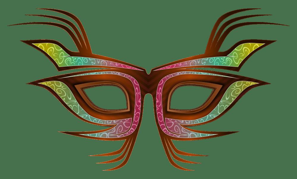 medium resolution of 2400x1446 carnival mask clip art free vector download free