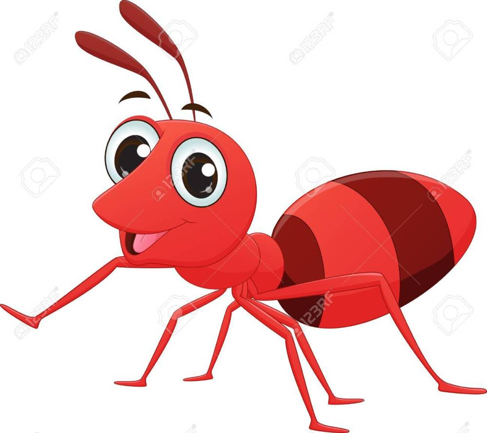 medium resolution of 1300x1156 red ant clipart vector
