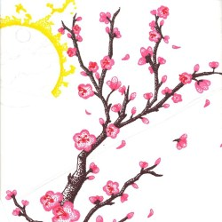 blossom cherry tree cartoon drawing flower blossoms branch clip drawings clipart pencil sakura clipartmag sketches graphic getdrawings