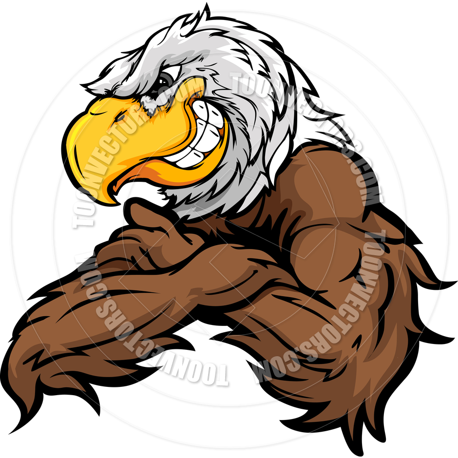 hight resolution of 940x940 cartoon eagle vector image by chromaco toon vectors eps