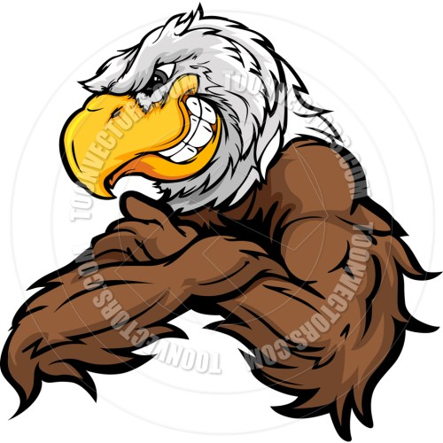 small resolution of 940x940 cartoon eagle vector image by chromaco toon vectors eps