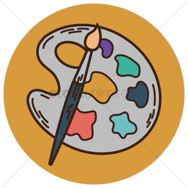 Cartoon Of Paint Brushes Free