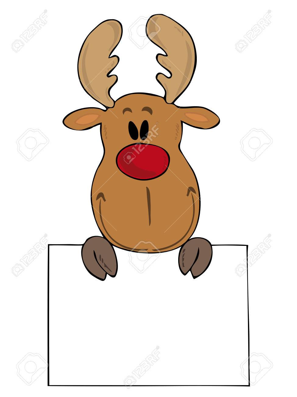Xmas Clip Nosed Rudolph Clip New Red Amp Reindeer Year Art Art