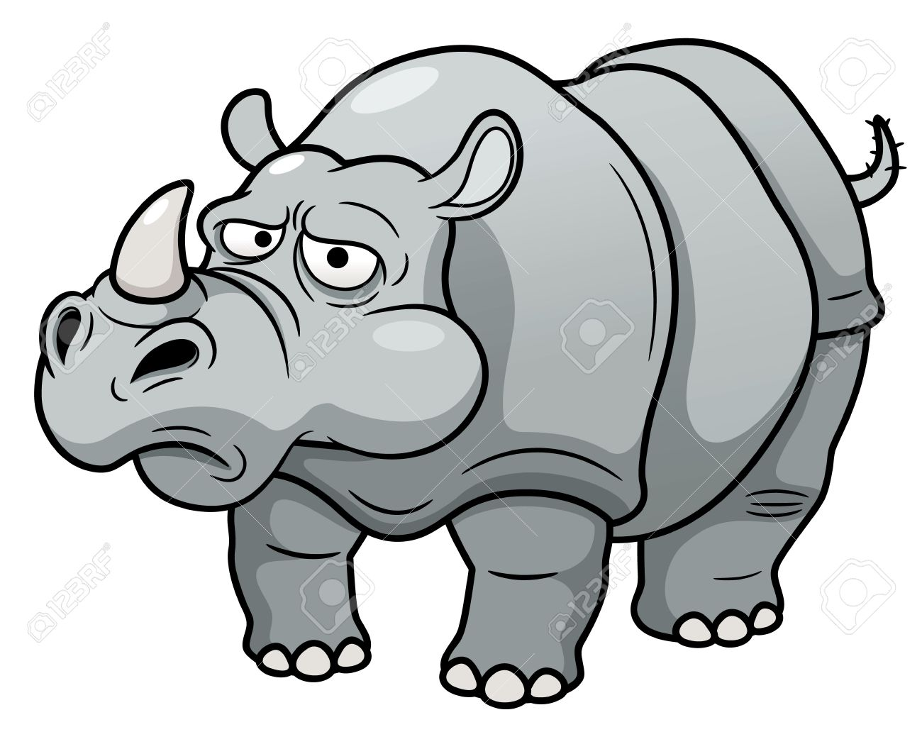 hight resolution of 1300x1056 illustration of cartoon rhino royalty free cliparts vectors