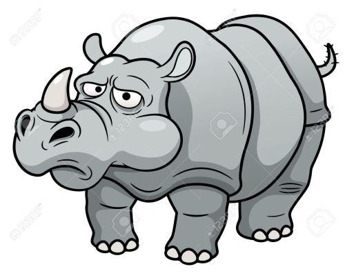 small resolution of 1300x1056 illustration of cartoon rhino royalty free cliparts vectors