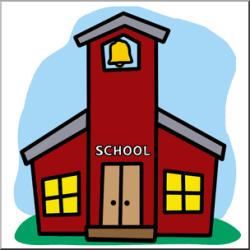 cartoon schoolhouse clip clipart abcteach building clipartpanda clipartmag education 20clipart