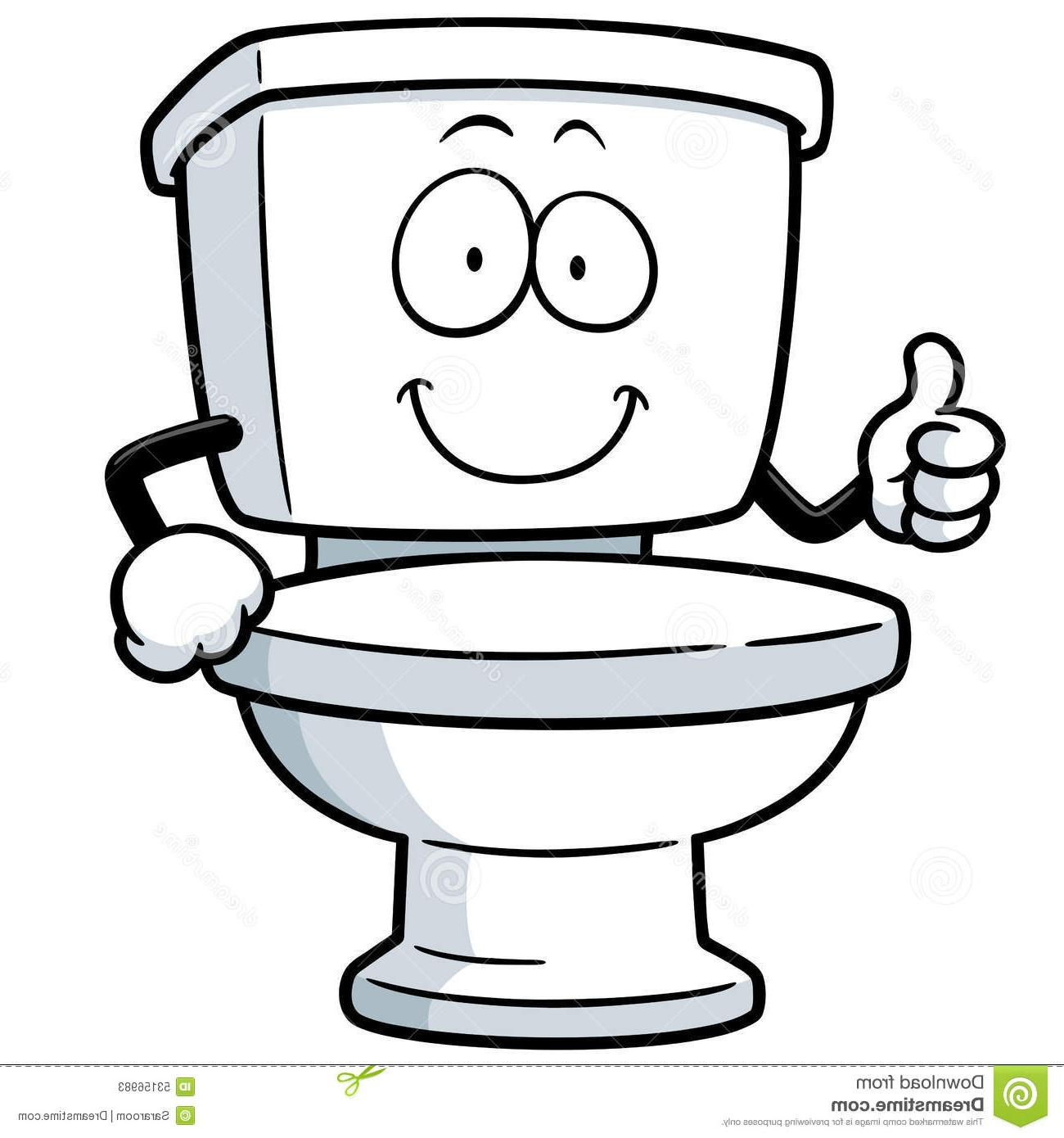 Cartoon Toilet Clipart