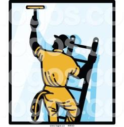 window ladder clip washer royalty vector clipart logos cartoon clipartmag patrimonio janitorial