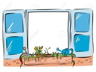 window clipart sill cartoon vector clipartmag clipground