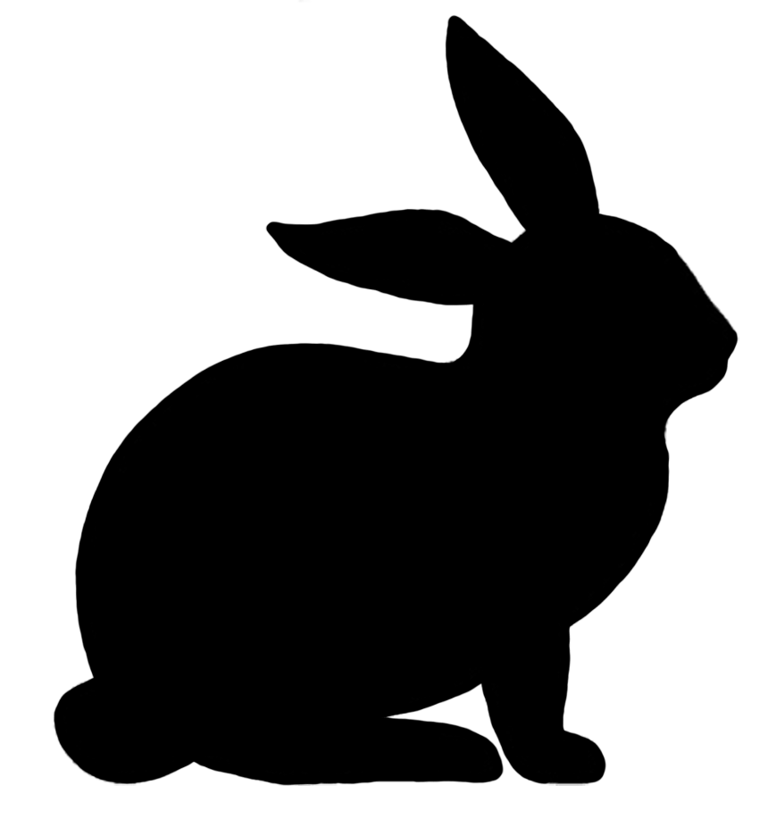 medium resolution of 869x917 cave clipart rabbit