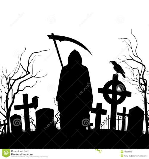 small resolution of 1300x1390 graveyard clipart silhouette