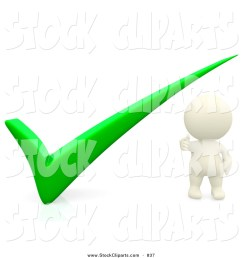 1024x1044 3d clip art of a 3d teeny person with a green check mark by [ 1024 x 1044 Pixel ]